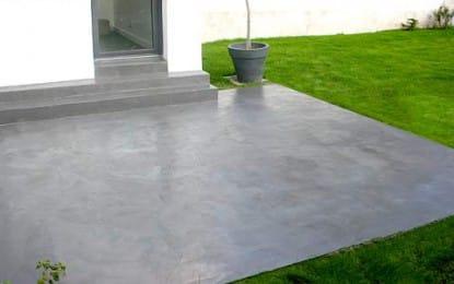 Terrasse : comment réussir une dalle en béton ?